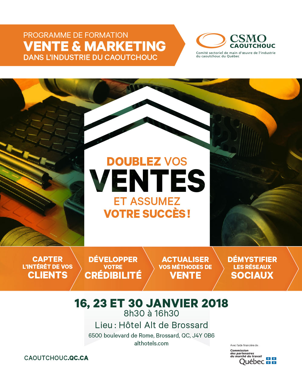 Programme de formation VENTE et MARKETING